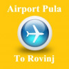 From airport pula to Rovinj