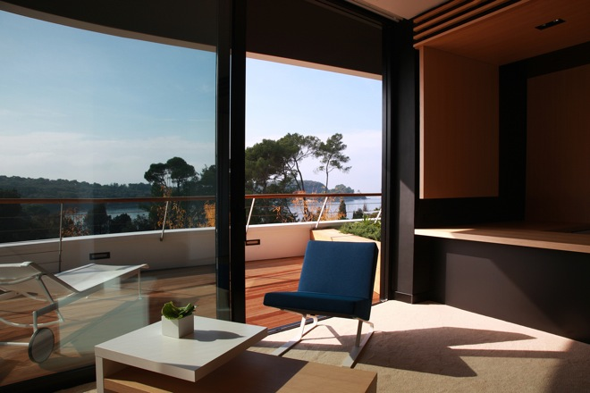 Unique design hotel lone rovinj 5 star hotel for Kroatien designhotel