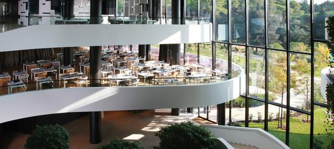 Unique design hotel lone rovinj 5 star hotel for Hotel parking design
